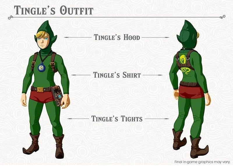 tingle - Tudo o que você precisa saber sobre a primeira DLC de Legend of Zelda: Breath Of The Wild