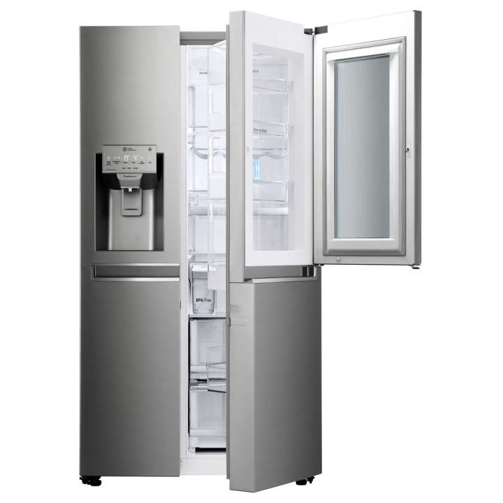 3. Door Open Silver 720x720 - LG InnoFest 2017: Conheça a geladeira com Windows 10 da LG e muito mais