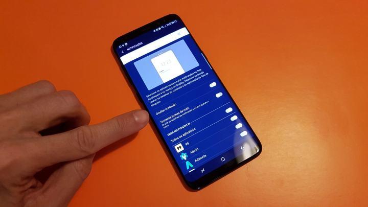 HIDE NOTIFICATIONS GALAXY S8 720x405 - Dicas e truques para o Samsung Galaxy S8 ou S8+