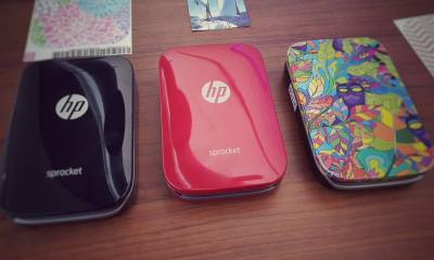 hp sprocket red printer impressora