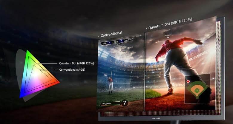 Entenda a tecnologia de Pontos Quânticos do Monitor Curvo Gamer da Samsung