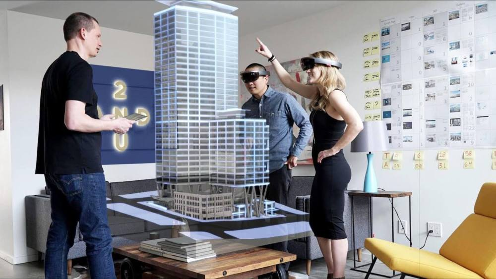 2U HoloLens SalesExperience 2 - Como a Apple, Google e Microsoft estão construindo um futuro AR