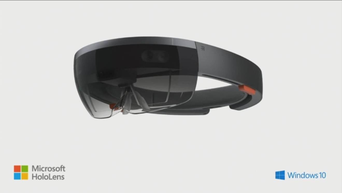 Hololens w logo e1500049492441 - Como a Apple, Google e Microsoft estão construindo um futuro AR