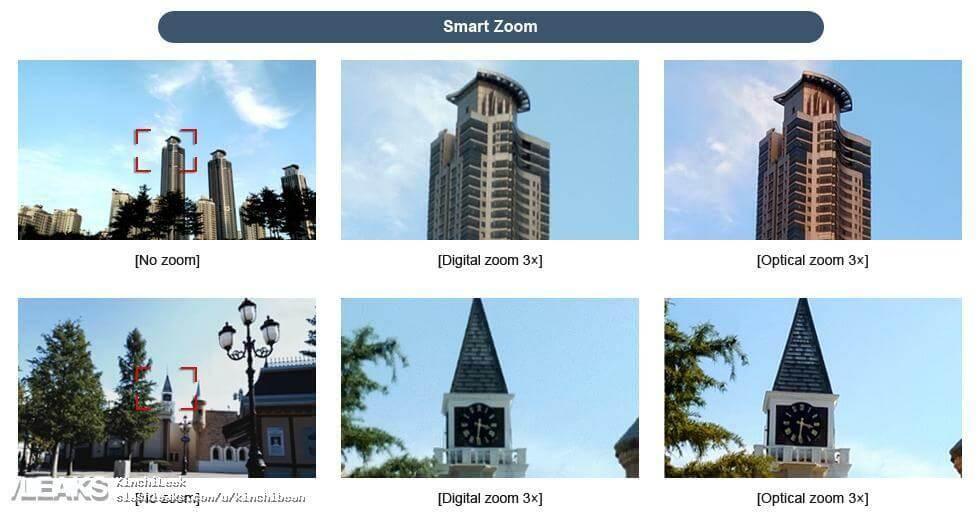 Galaxy Note 8 Câmera 3x Optical Zoom; Samsung