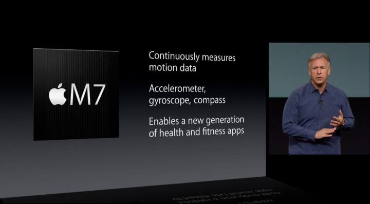 iPhone 5s keynote M7 specs slide 720x397 - iPhone 8 substituirá Touch ID por um scanner facial 3D, diz Bloomberg
