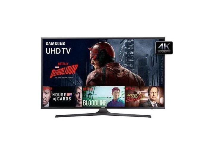 smart tv tv led 50 samsung serie 6 4k hdr netflix un50ku6000 3 hdmi photo120263330 12 2a f 720x524 - Fim do sinal analógico aumenta procura por Smart TVs; confira as mais buscadas