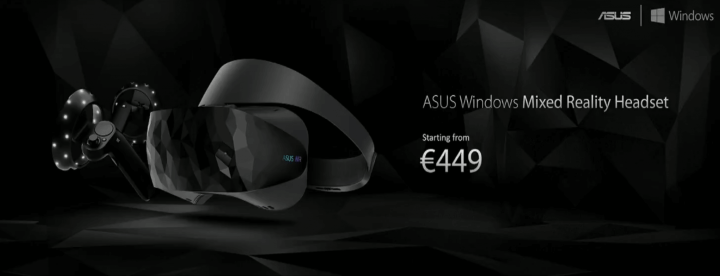 ASUS Windows Mixed Reality