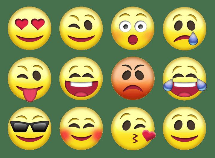 senha de emojis