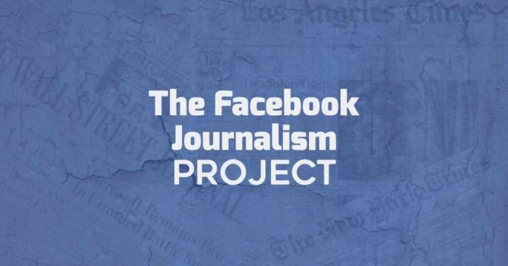 jornalismo facebook