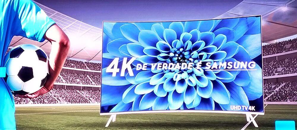 Samsung e SporTV firmam parceria para transmissão de jogos em 4K 7