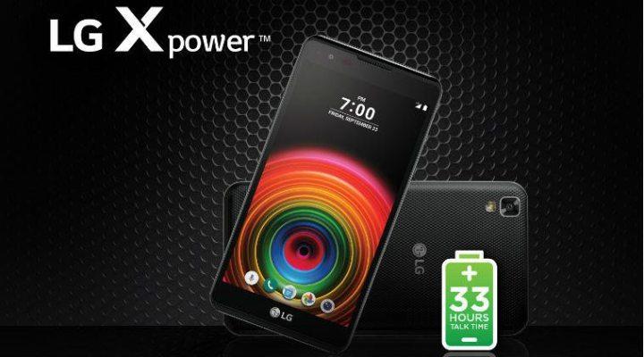 LG Xpower 720x400 - Os 5 smartphones com as maiores baterias do mercado