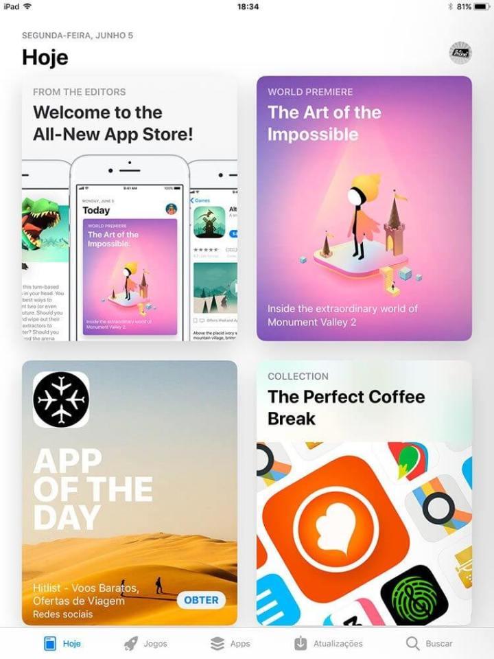 Nova App Store 720x960 - Novo iOS 11 chega dia 19 de setembro: conheça as novidades