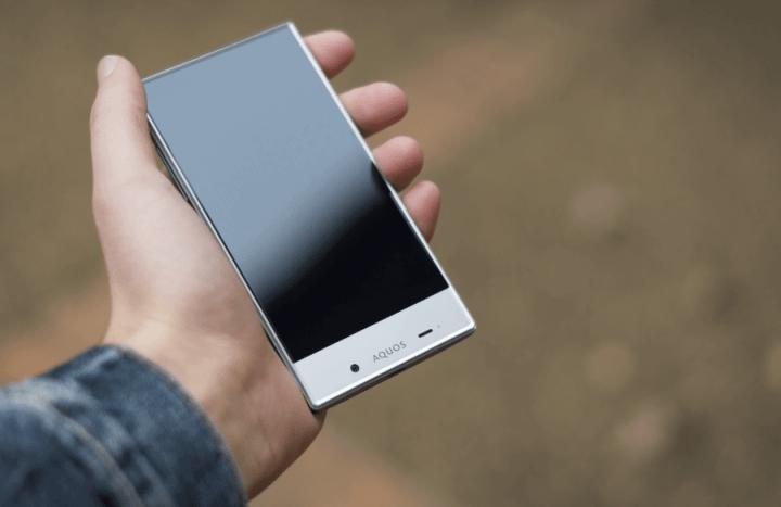Sharp Aquos Crystal 720x467 - 9 anos de Android: como as telas mudaram o smartphone para sempre