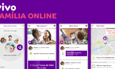 Família Online: app da Vivo compartilha localização em tempo real