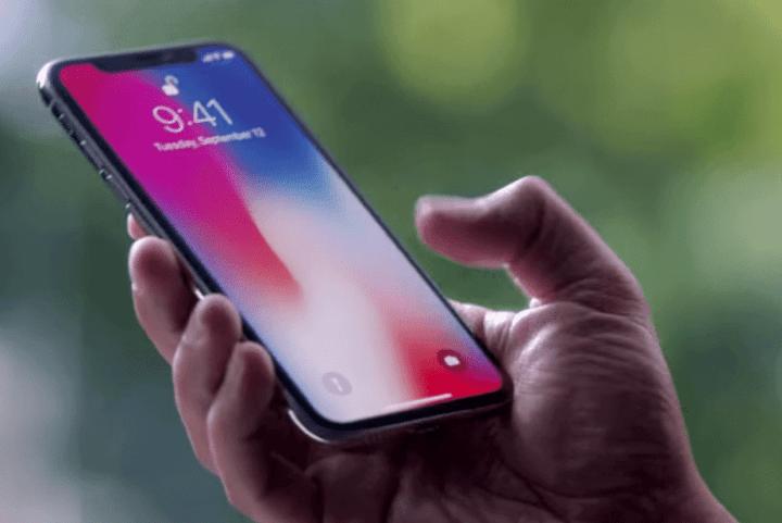 Novo display OLED do iPhone x tem menos brilho que o Samsung Galaxy S8