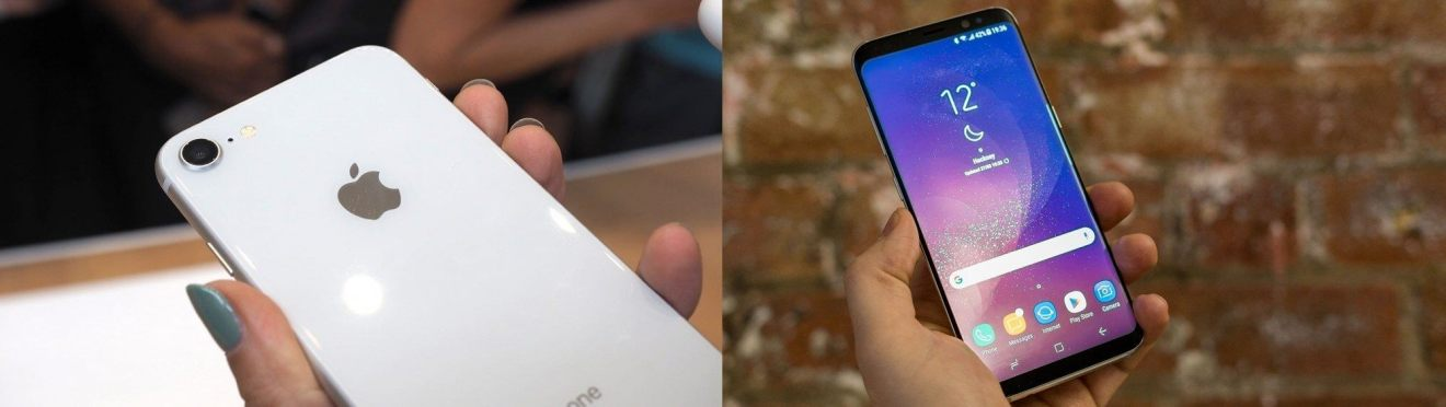 iphone 8 vs s8 - Comparativo: iPhone X vs Galaxy Note 8, iPhone 8 vs Galaxy S8 e iPhone 8 Plus vs Galaxy S8+