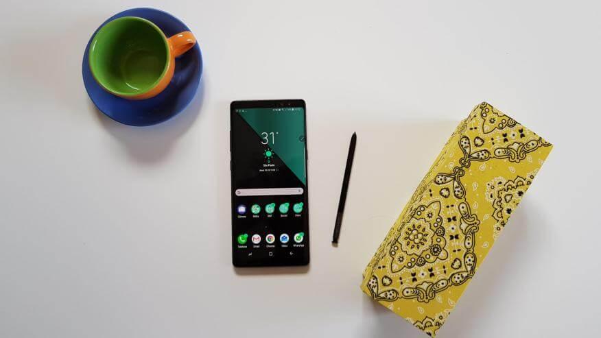 Galaxy Note 8 e S Pen 5 1 - Samsung presenteia passageiros com 200 Galaxy Note8 em voo