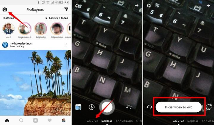 Instagram Stories Live Streaming