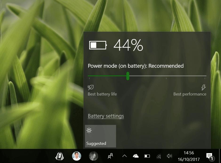 bateria - Veja todas as novidades do Windows 10 Fall Creators Update