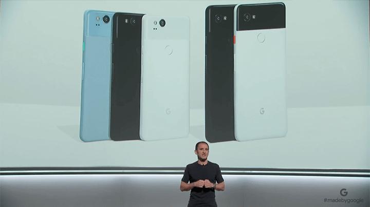 google pixel 2 002 720x403 - Google anuncia Pixel 2 e Pixel 2 XL; confira os detalhes