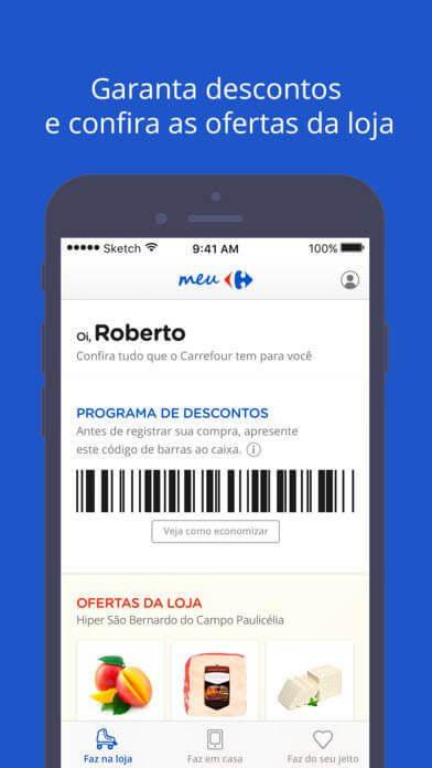 meu carrefou 06 - Carrefour lança plataforma mobile de benefícios e e-commerce