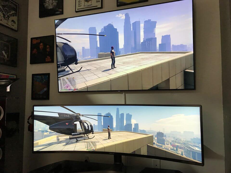 755309559de25cc5eb4c - Monitor gamer curvo QLED 32:9 da Samsung é lançado no Brasil
