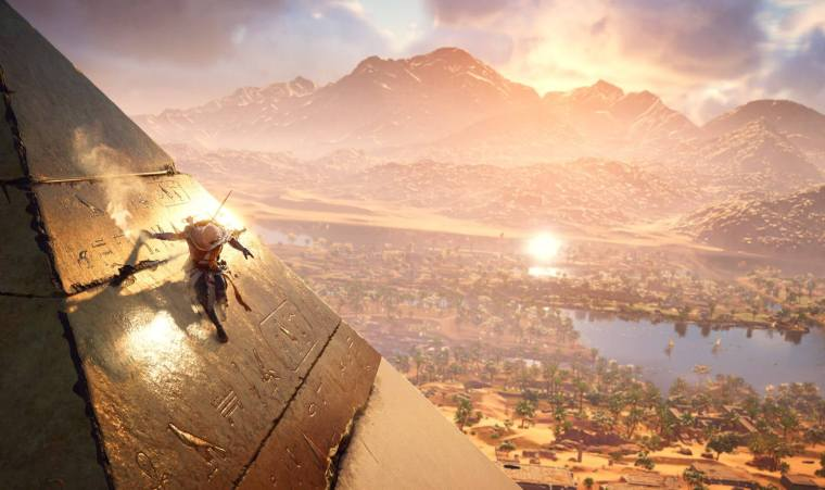 Assassins Creed Origins Pyramid 320x190 - Review: Assassin's Creed Origins é uma aventura incrível pelo Egito Antigo