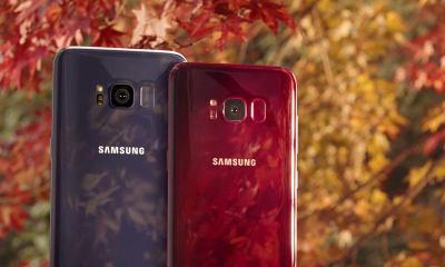 Samsung disponibiliza cor vermelho borgonha para o Galaxy S8
