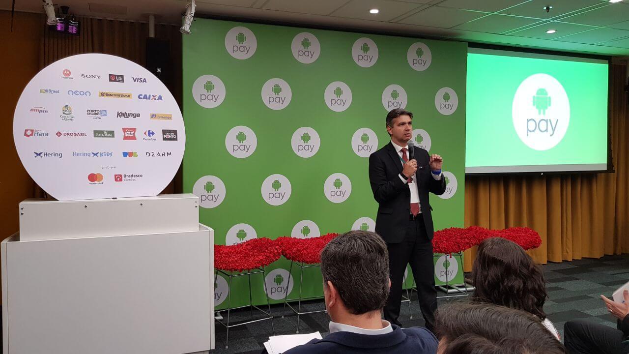 Sistema de pagamento móvel Android Pay chega ao Brasil