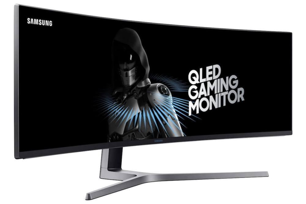 c49hg90006l perspectiveblack - Monitor gamer curvo QLED 32:9 da Samsung é lançado no Brasil