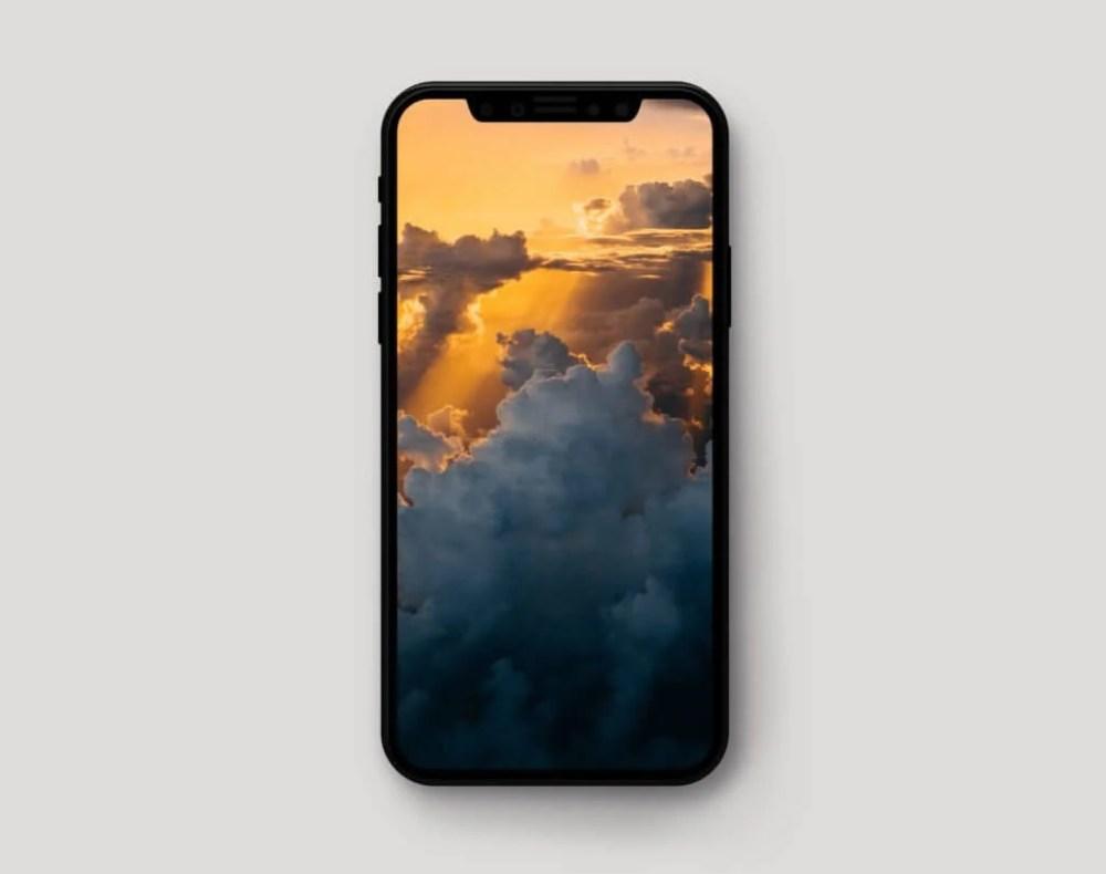 iphone x wallpaper pack 3 mock up idownloadblog 1024x809 - A tela OLED do iPhone X é a melhor já testada pelo DisplayMate