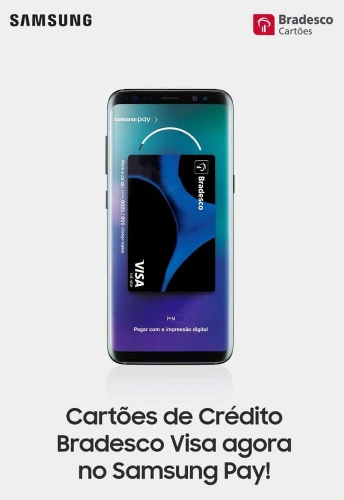 samsung pay bradesco - Cartões Bradesco entram no Samsung Pay
