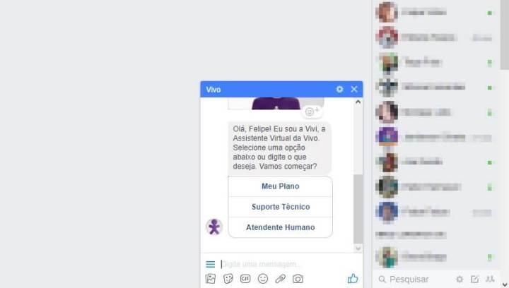 screenshot 20171101 185246 720x408 - Clientes da Vivo agora podem pedir 2ª via da fatura pelo Messenger
