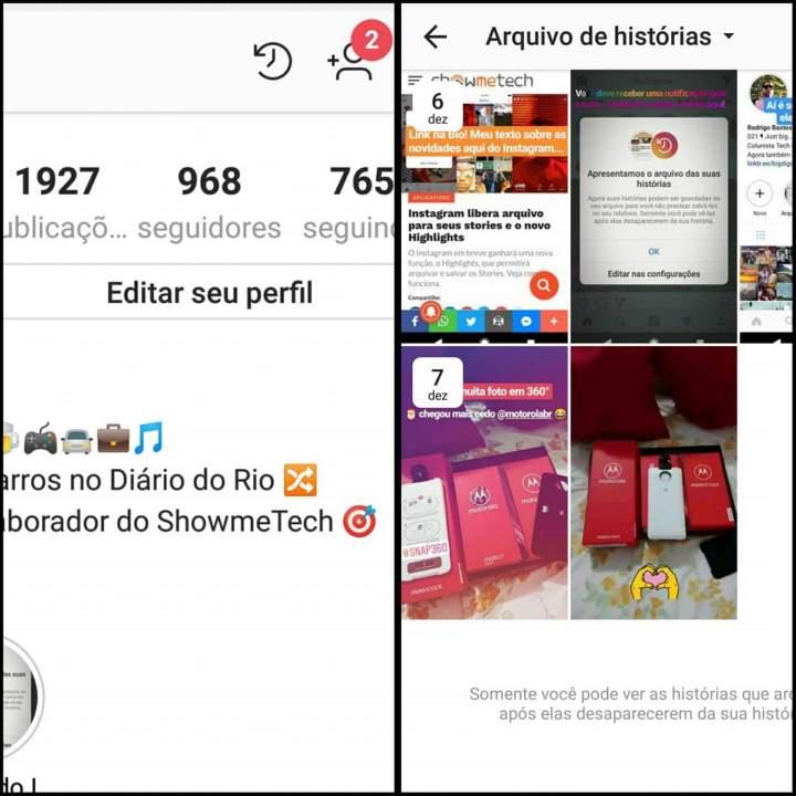 25075581 10157331186573312 423285501 o 720x720 - Como utilizar o Arquivo e Highlights do Instagram Stories