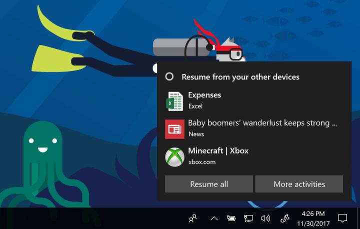 70d80dc78ced7ae42a3a8dd3ed1811e2 720x458 - Nova build do Windows 10 Insider Preview traz Timeline e novos recursos
