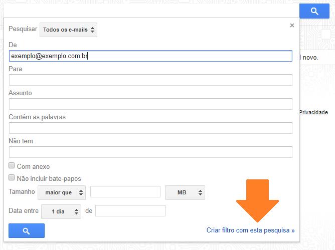 FILTROS - Gmail: aprenda a ativar o reencaminhamento automático de emails