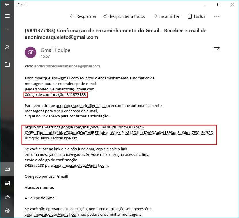gmail tutorial 04 - Como combinar duas ou mais contas do Gmail