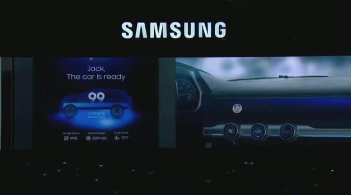 1 - CES 2018: Samsung revela um painel digital para carros inteligentes