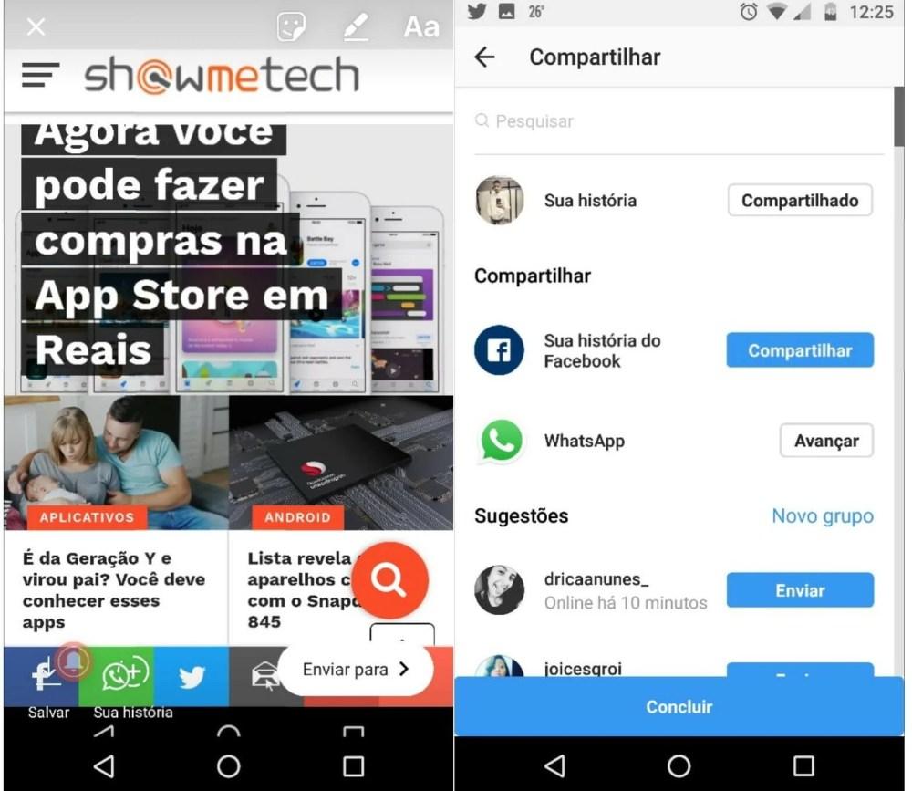 151508700248201 1320x1145 - Como compartilhar a foto no Instagram Stories e WhatsApp Status ao mesmo tempo
