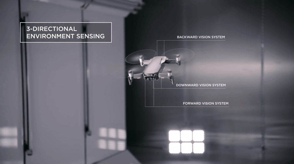 3 axis - DJI lança Mavic Air, o drone compacto e poderoso