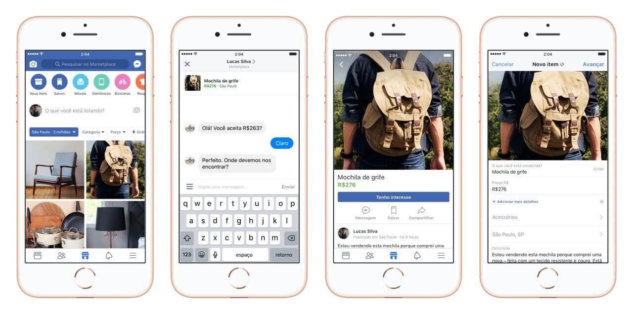 Facebook lança Marketplace no Brasil 7