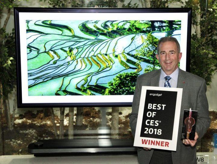 CES Best TV Product Award 720x544 - LG coleciona mais de 90 prêmios pelos produtos apresentados na CES 2018