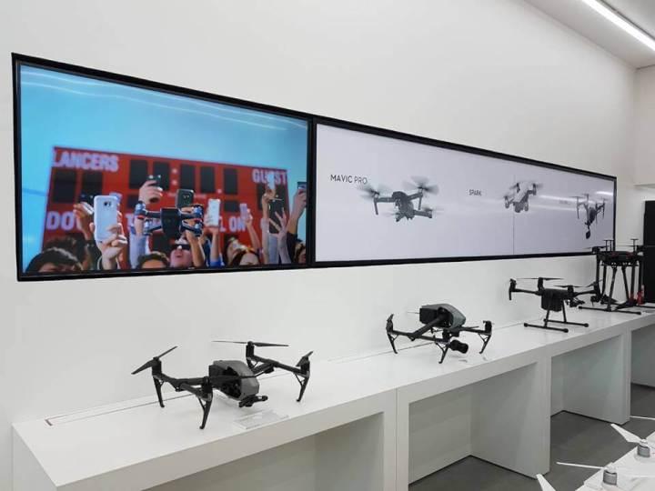 Inauguração primeira loja brasileira DJI