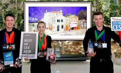 LG Best of CES 2018 Award - LG coleciona mais de 90 prêmios pelos produtos apresentados na CES 2018