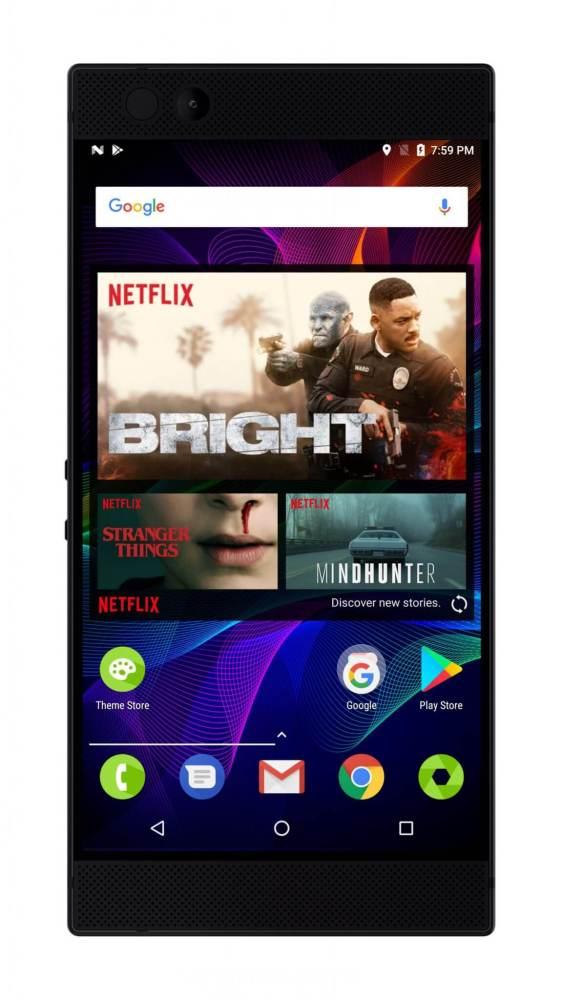 Dolby Surrond 5.1 Plus e HDR num smartphone da Razer