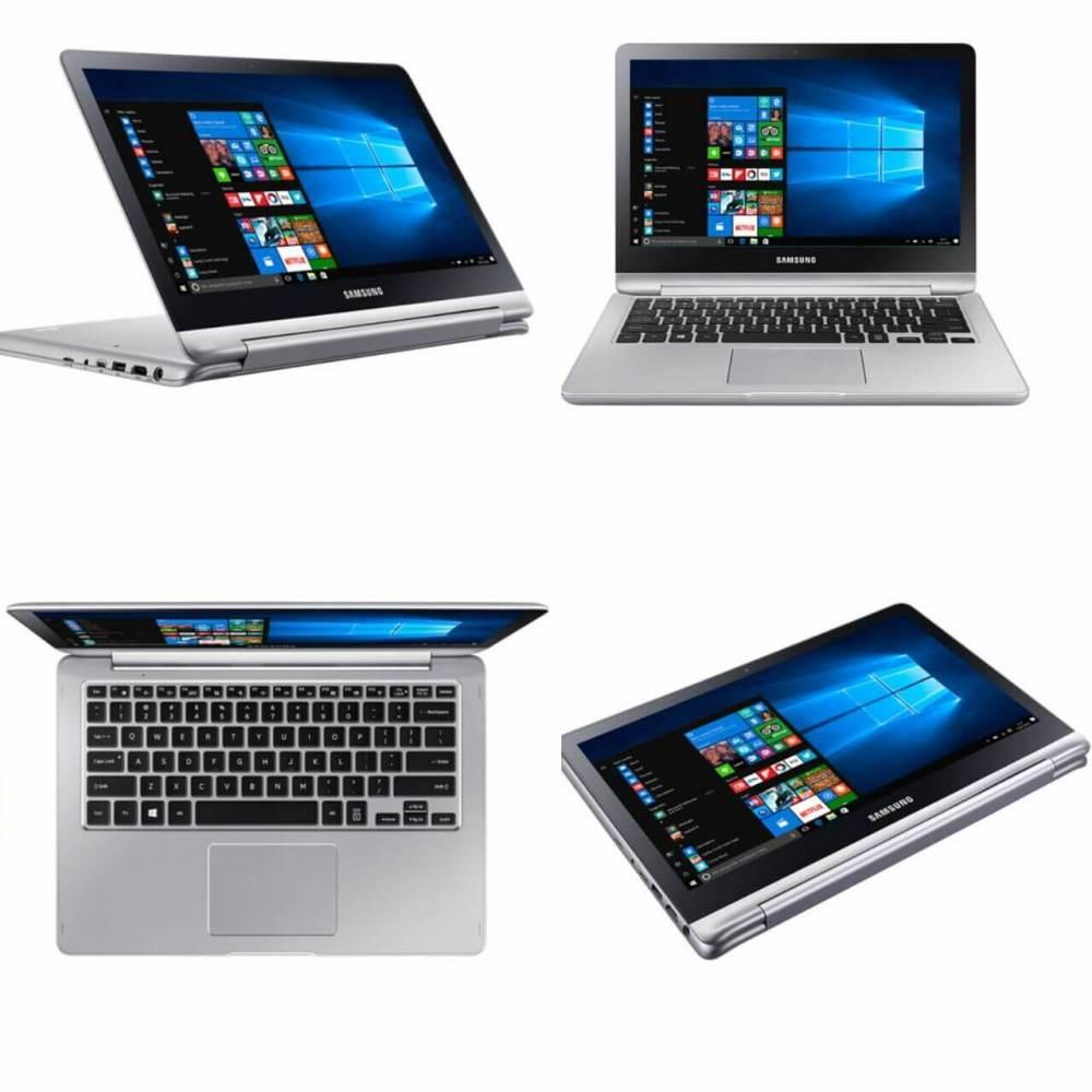 Style paisagem - Novo notebook Samsung Style 2 em 1 tem touchscreen de 360 graus