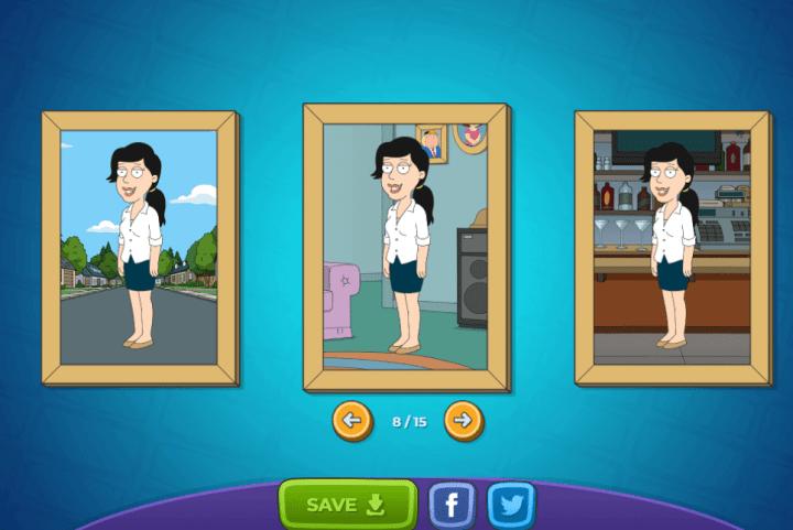 family guy05 720x481 - Como criar seu avatar do Family Guy e compartilhar nas suas redes
