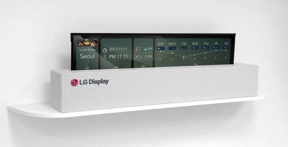 lg 2 - CES 2018: LG exibe TV OLED enrolável de 65 polegadas