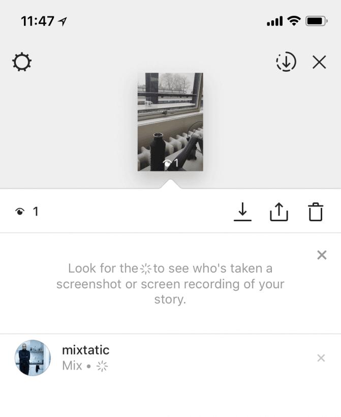 Instagram começa a mostrar quem tirou print dos seus Stories 8