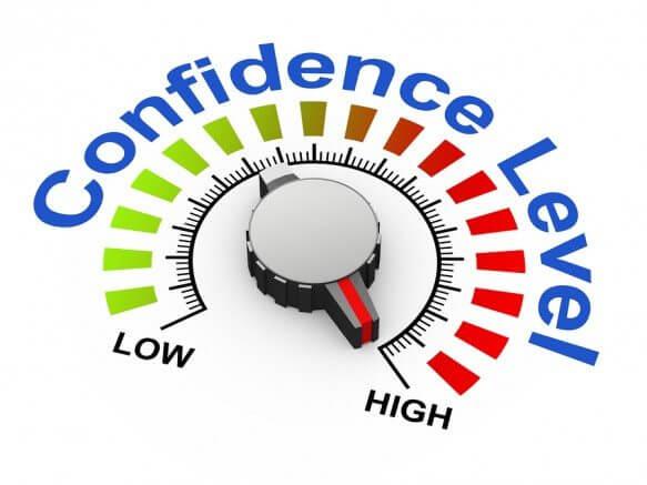 bigstock D Knob Confidence Level 46141444 583x437 - Por que pessoas incompetentes pensam que são eficientes?